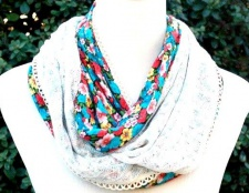 Як зшити двосторонній шарфик