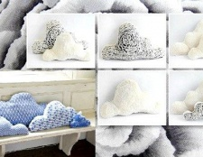 Як зшити подушку-хмара