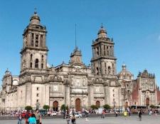 Як будувався кафедральний собор в Мексиці