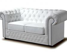 Як доглядати за білим шкіряним диваном