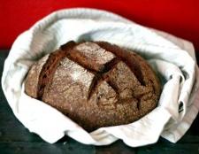 Як в хлібопічці спекти житній хліб