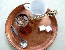 Як варити каву в турці за правилами