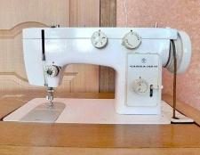 """Як вставити нитку в швейній машинці """"чайка"""""""