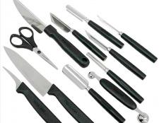 Як вибрати комплект ножів для фігурного різання овочів і фруктів