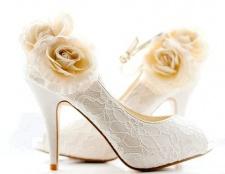 Як вибрати туфлі для весілля