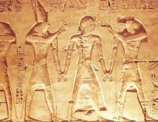 Як виглядають давньоєгипетські боги