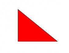 Як виглядають прямокутні трикутники