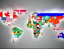 Як виглядають країни і їхні прапори