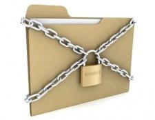 Як запаролити папку з файлами