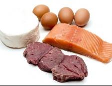 Які продукти належать до білків