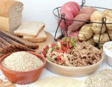 Які продукти містять крохмаль