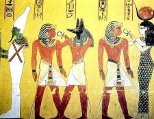 Які тварини уособлювали богів в стародавньому Єгипті