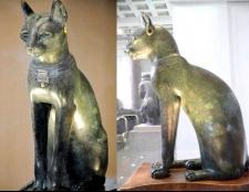 Які тварини вважаються священними у єгиптян