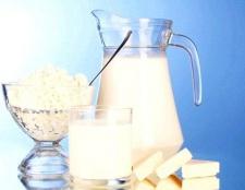 Яка кількість білка міститься в молочних продуктах