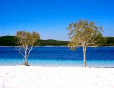 Яке озеро найчистіше в австралії і в чому його особливості
