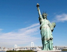 Якої висоти статуя свободи