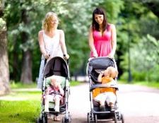Коли починати гуляти з новонародженим