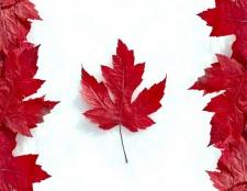 Коли вперше на канадському прапорі з'явився кленовий лист