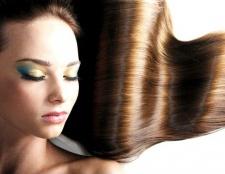 Ламінування волосся желатином