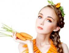 Морквяна маска для жирної шкіри