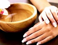 Натуральні маски для нігтів