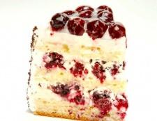 Персиково-малиновий пиріг