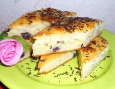Пиріг-кекс з виноградом