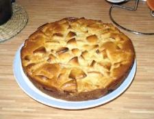Пиріг-перевертиш з груші та імбиру
