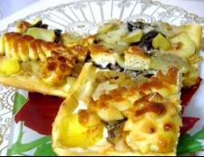 Пиріг з грибами і картоплею
