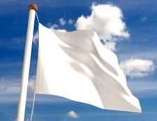 Чому білий прапор - символ капітуляції