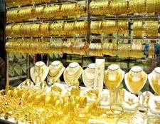 Купівля золотих прикрас у дубаї