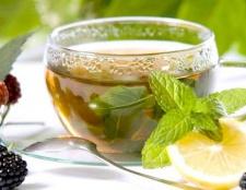 Корисні властивості чаю з м'ятою