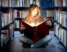 Користь читання книг