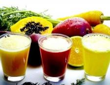 Користь і шкода свіжих соків