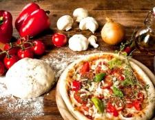 Рецепт соковитого тіста для піци