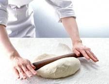 Рецепт тіста для пиріжків без дріжджів