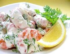 Рецепти салатів з креветок