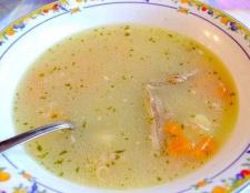Рецепти супів на курячому бульйоні