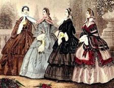 Російська мода дев'ятнадцятого століття