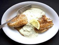 """Риба під соусом """"тартар"""""""