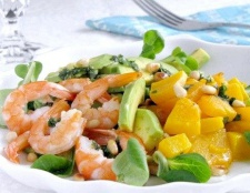 Салат «помаранчевий сюрприз»