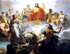 Символіка давньогрецьких богів