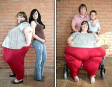 Скільки важить найтовстіша людина на землі