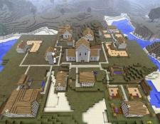 Порада 1: як знайти село в minecraft