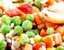 Порада 1: як заморожувати овочі та фрукти