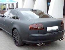 Порада 1: мінуси і плюси фарбування автомобіля в чорний матовий колір