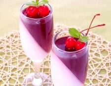 Створюємо вишнево-вершкове желе