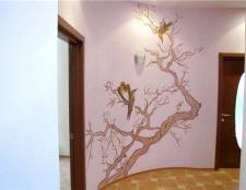 Своїми руками розмальовуємо стіну в квартирі
