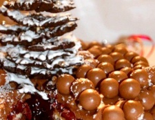 "Торт ""новорічна забава"""