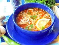 Турецький суп izmir koefte